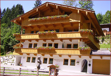 Apartments Vacation apartments Mühlanger in the Alpbachtal valley and lake country